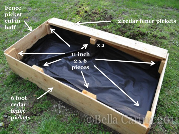 How to build a raised garden bed Bella Carina
