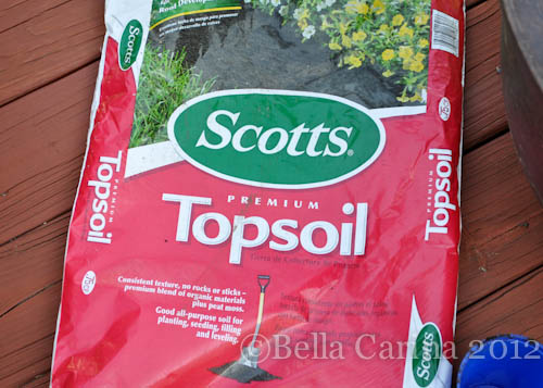 I Hened To Use Scotts Brand This Time Mainly Because The Bags Of Even Er Off Soil Were All Open And Leaking Not So Good For Trunk